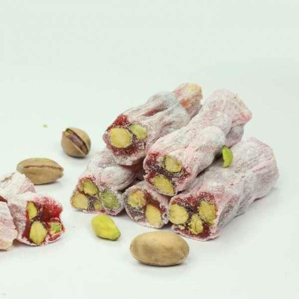 Antep Fıstıklı Narlı Fitil Lokum 500 Gr