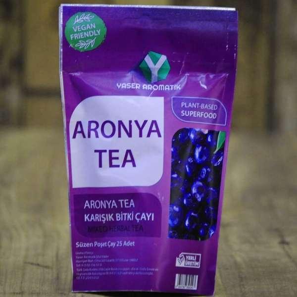 Aronya Tea 25'Li Süzen Poşet Çay