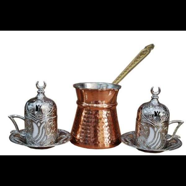 Bakır Kahve Seti