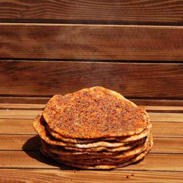 Biberli Ekmek 10 Adet ( Acılı )