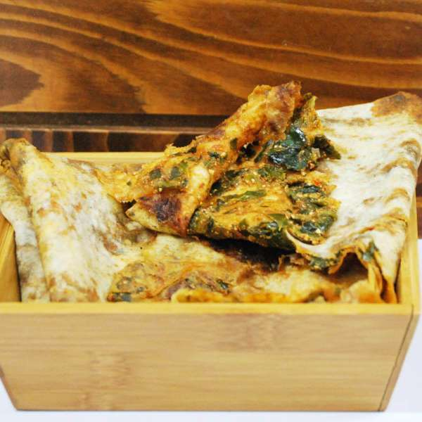 Çökelekli Ispanaklı Katıklı Ekmek 5 Adet