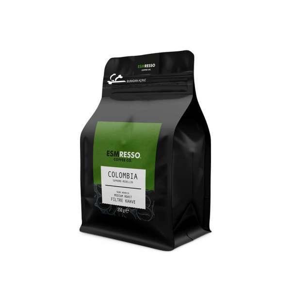 Colombia - Supremo Medellin - Filtre Kahve 250 Gr