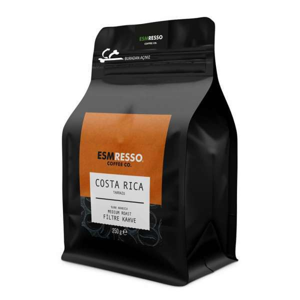 Costa Rica - Tarrazu - Filtre Kahve 250 Gr