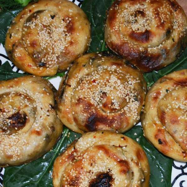 Ispanaklı Külçe ( Gül Böreği ) - 5 Adet