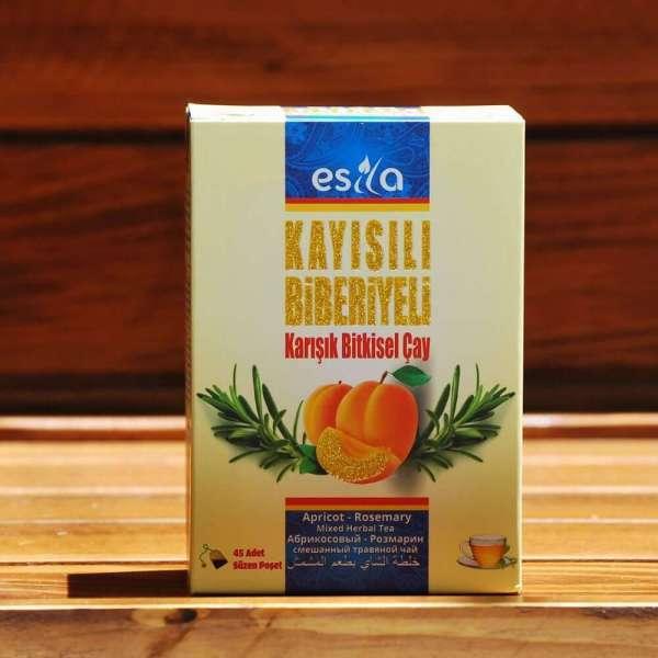 Kayısılı Biberiyeli Çay 45 Adet (Poşet)