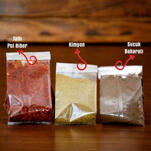 Sucuk Baharatı-Kimyon-Pul Biber 300 Gr