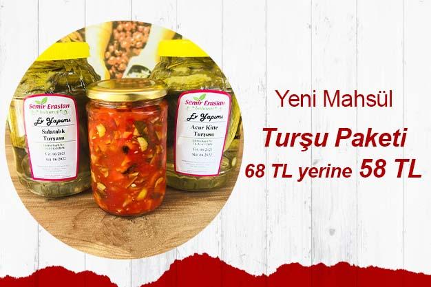 3'lü Turşu Paketi