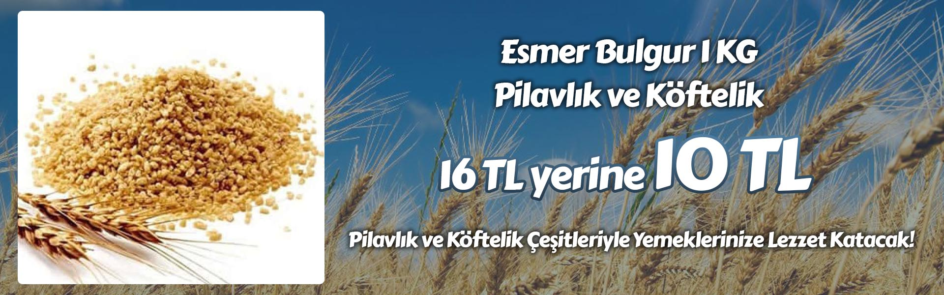 Esmer Bulgur