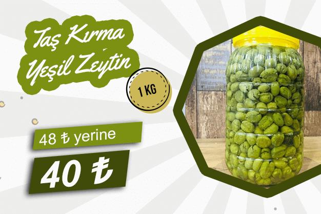 Taş Kırma Zeytin 2 KG