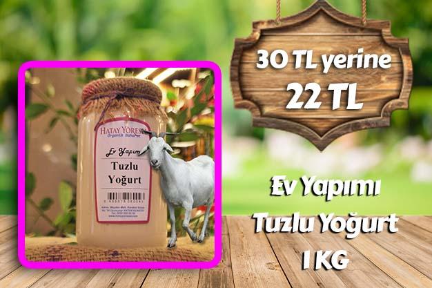 Tuzlu Yoğurt 1 KG
